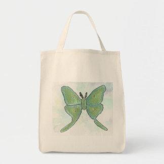 Luna Moth Grocery Tote