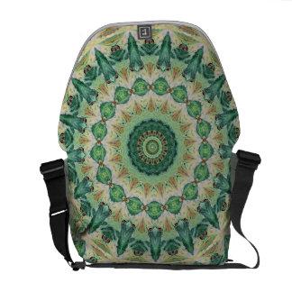 Luna Moth Kaleidoscope Abstract Commuter Bag