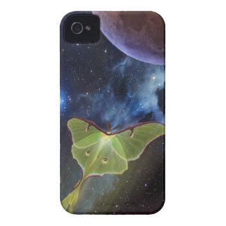 Luna Moth Lunar Flight iPhone Case