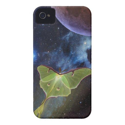 Luna Moth Lunar Flight iPhone Case iPhone 4 Covers