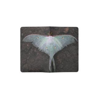luna moth nature butterfly fairy fantasy dream pocket moleskine notebook