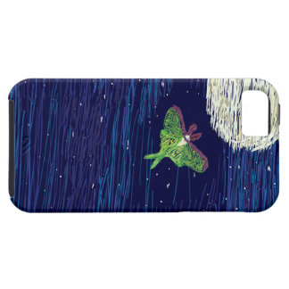 Luna Moth Night Life iPhone 5/5S Cover