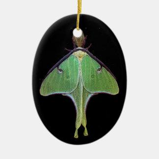 Luna Moth Christmas Ornament