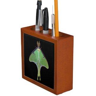 Luna Moth Pencil Holder