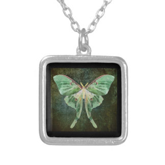 Luna Moth Pendant Necklace
