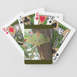 Luna Moth Playing Cards