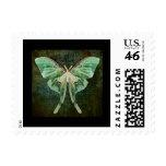 Luna Moth Postage Stamp