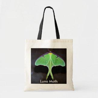Luna Moth Tote Bag Canvas Bag