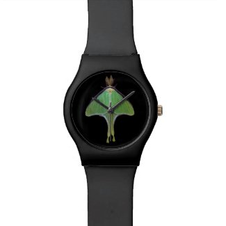 Luna Moth Wristwatch