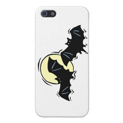 luna negra de dos palos iPhone 5 carcasa