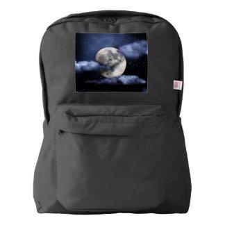 Luna nublada mochila