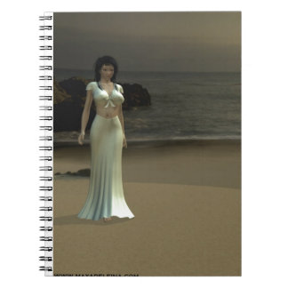 Luna on the Beach Notebook
