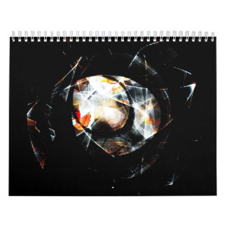 Luna orbital calendario de pared