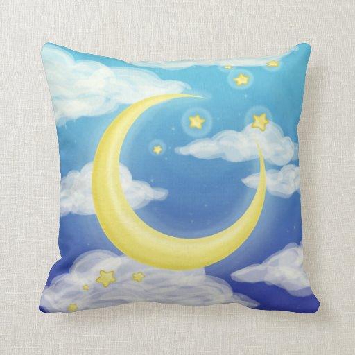 Luna pálida cojines