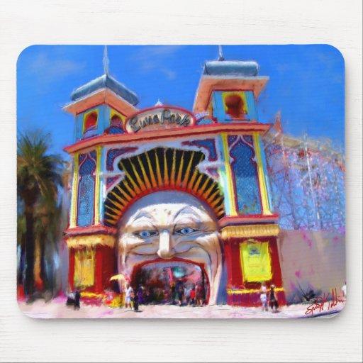 Luna Park Alfombrilla De Raton