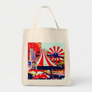 Luna Park at Coney Island Tote Bag