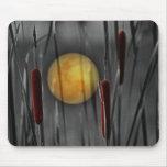 Luna pegada tapetes de raton