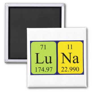 Luna periodic table name magnet