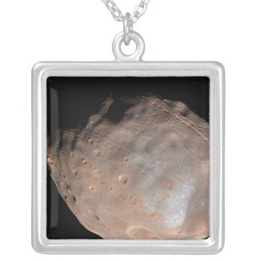 Luna Phobos 2 de Marte Colgante Cuadrado