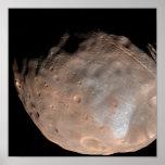Luna Phobos 2 de Marte Póster