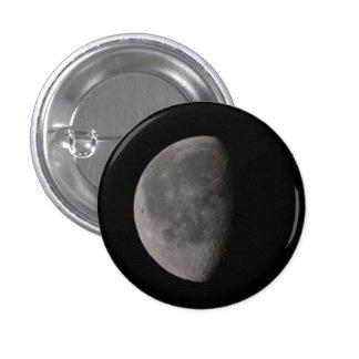 Luna Pin Redondo De 1 Pulgada
