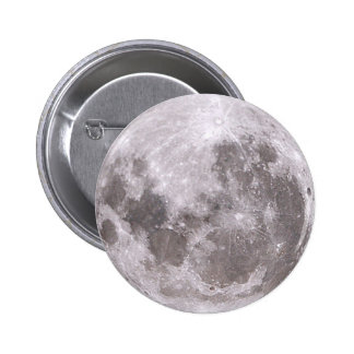 luna pin redondo de 2 pulgadas