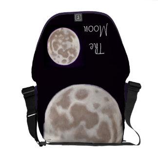 Luna pintada bolsas de mensajeria