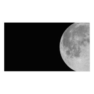 Luna Plantilla De Tarjeta De Negocio