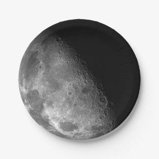 Luna Platos De Papel