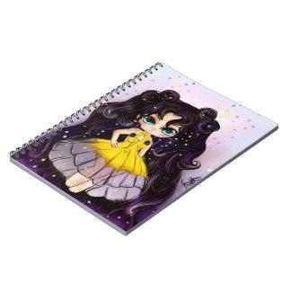 Luna princess notebook