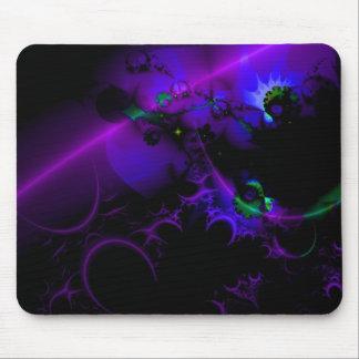 Luna púrpura Mousepad fresco