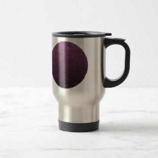Luna púrpura taza de viaje de acero inoxidable