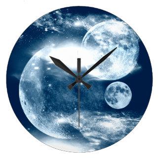 Luna Reloj Redondo Grande