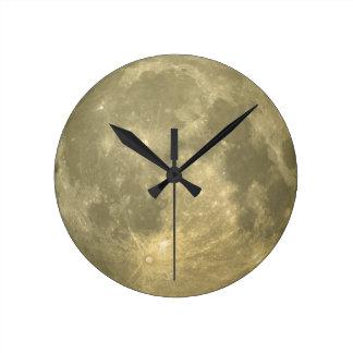 Luna Reloj Redondo Mediano