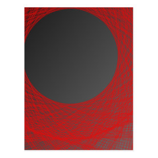 luna roja y negra postales