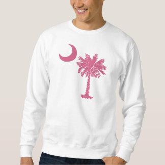 Luna rosada del Palmetto Pulovers Sudaderas