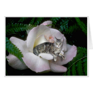 Luna Rose Greeting Card