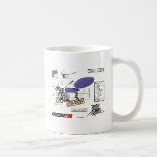 Luna Rover de Lunokhod 2 Tazas De Café