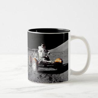 ¡Luna Rover - reloj para los peatones Taza De Café