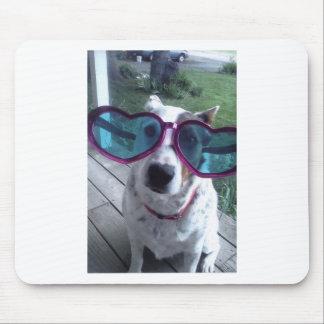 "Luna Says ""Bad Hair Day? Get bigger glasses"" Mouse Pad"