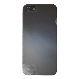 Luna scape. iPhone 5 fundas