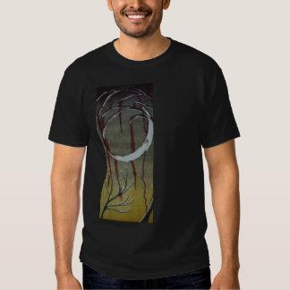 luna sin título del horror en una camisa