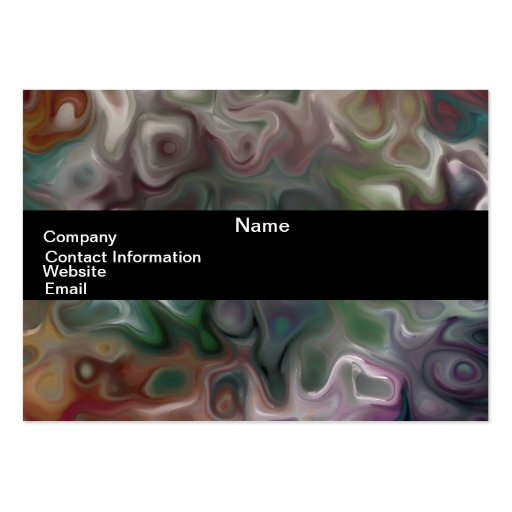 "luna sky 44.2 abstract ""MOdern art"" Large Business Cards (Pack Of 100)"
