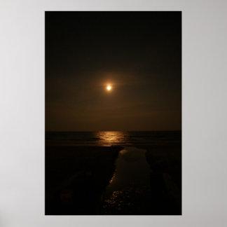 Luna sobre el Atlántico Impresiones