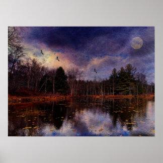 Luna sobre el pantano poster