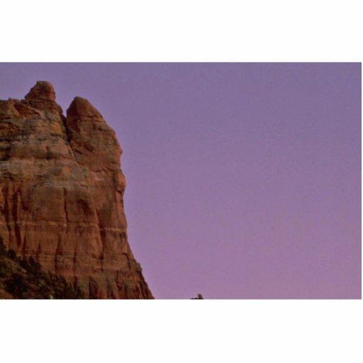 Luna sobre los acantilados escultura fotográfica