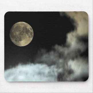 Luna sobre mi cámara tapete de ratón