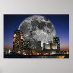 Luna sobre Phoenix Posters