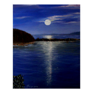 Luna sobre Tritón Posters