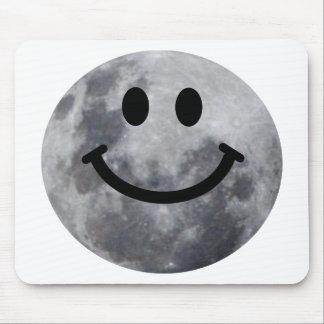 Luna sonriente tapetes de raton